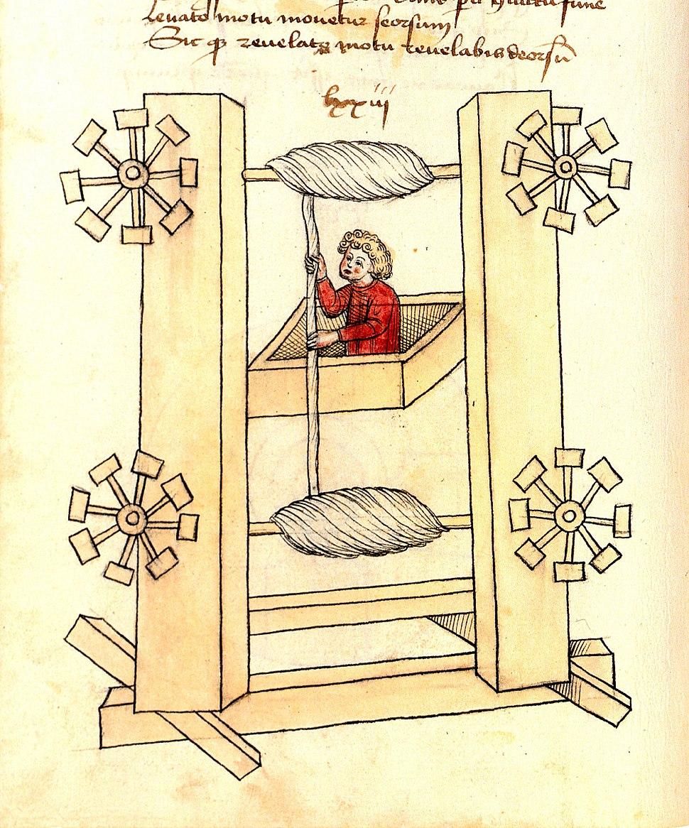 Konrad Kyeser, Bellifortis, Clm 30150, Tafel 09, Blatt 38v (Ausschnitt)