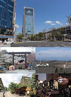 Kōriyama Core city in Tōhoku, Japan