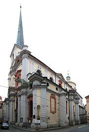 Kostel sv Tomase