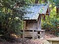 Koyasu-jinja shrine of Afuku Kahaku-jinja shrine.JPG