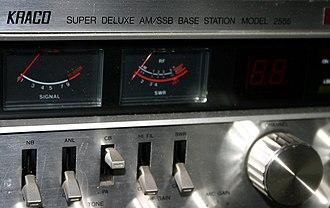 Kraco Enterprises - A Kraco Super Deluxe CB transmitter