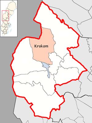 Krokom Municipality - Image: Krokom Municipality in Jämtland County