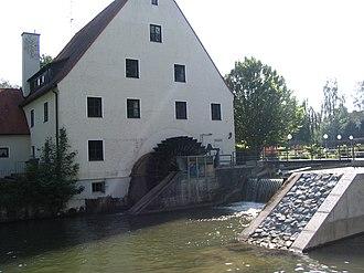 Kammel - Image: Krumbach am Bach