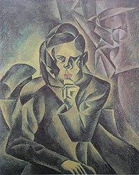 Kubista, Bohumil - Podobizna Jana Zrzaveho (1912).jpg