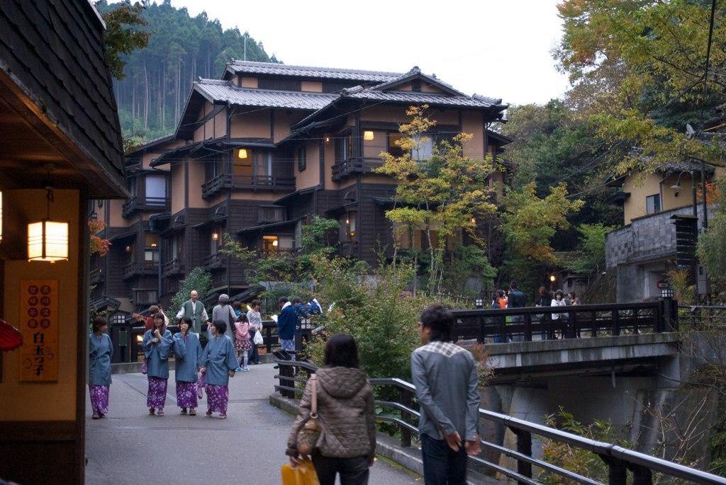 Kurokawa Onsen -温泉街