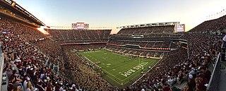 Kyle Field Football stadium in College Station, Texas