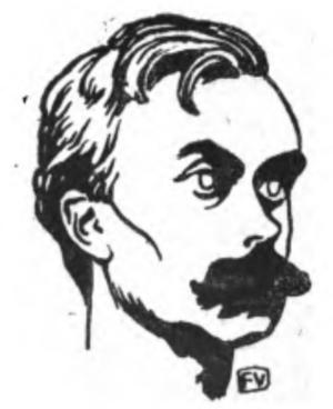 English: Portrait of French writer Léon Bloy (...