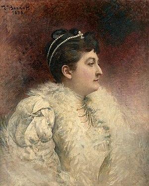 1899 in art - Image: Léon Bonnat Marie Georgine de Ligne (1899)
