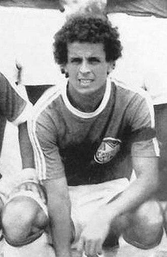 Lakhdar Belloumi - Belloumi with GC Mascara in 1984