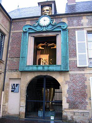 UNIMA - The seat of UNIMA in Charleville-Mézières, France