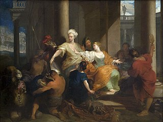 Achille reconnu à la cour de Lycomède