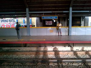 Doroteo Jose LRT station - Image: LRT1 Doroteo Jose
