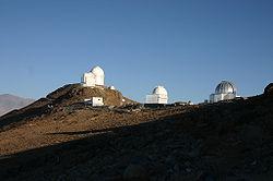 Observatoire de La Silla, au Chili.
