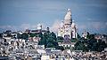 La Basilique du Sacré-Cœur de Montmartre vue de la Tour Saint-Jacques, Paris août 2014.jpg