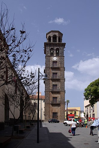 Iglesia de la Concepción (San Cristóbal de La Laguna) - Tower of the church