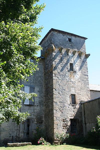 La Salvetat-sur-Agout (Hérault) - château d'Arifat - Tour est.