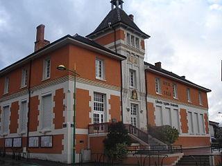La Verpillière Commune in Auvergne-Rhône-Alpes, France