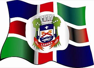 Lábrea - Image: Labrea bandeira