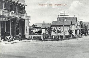 Lac-Mégantic, Quebec - Main Avenue (Avenue Principale) in 1910.
