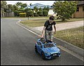Lachlan and his Ford Focus RS Hatch-2 (41293320870).jpg
