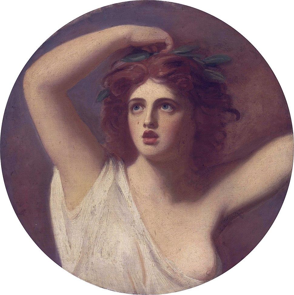Lady Emma Hamilton, as Cassandra, by George Romney