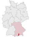 Lage des Landkreises Bad Tölz-Wolfratshausen in Deutschland.png