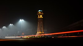 Lahore in Night