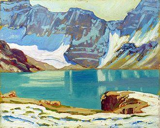 James J. McArthur - Lake McArthur by J. E. H. MacDonald (1924)