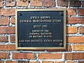 Lake Park GA Brown Store marker01.jpg