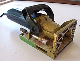 Biscuit joiner Woodworking joint