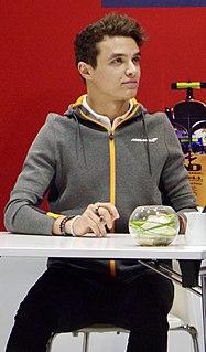 Lando Norris British racing driver