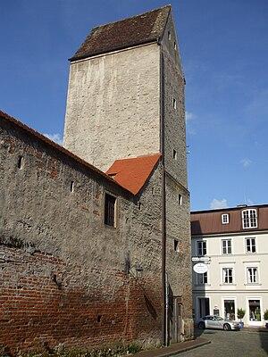 Witch tower - Image: Landsberg am Lech Hexenturm
