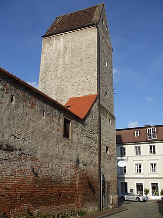 Witch tower - Image: Landsberg am Lech Hexenturm