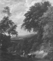 Landscape with a Road through a Forest (Jan Baptiste Huysmans) - Nationalmuseum - 17481.tif