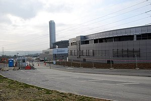 Langage Power Station - Picture of power station on 1 March 2009