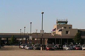 Lansing Capital Region International Airport Terminal Parking Lot.jpg