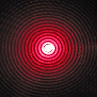 Laser Diffraction Pattern : 小3自由研究 : 自由研究