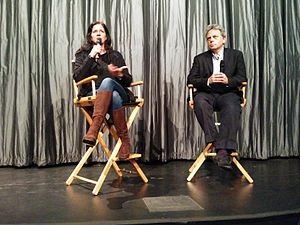 Laura Poitras - Poitras introducing her film Citizenfour at the IFC Center in NYC on opening night