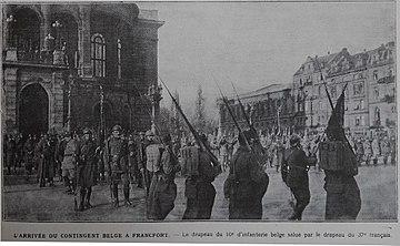 Резултат с изображение за Войски на Франция и Белгия нахлуват в Рур