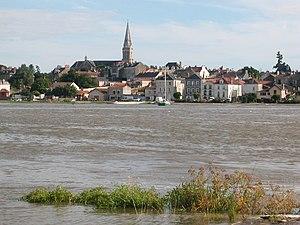 Le Pellerin - Le Pellerin, seen from across the Loire River