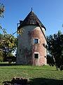 Le moulin à vent du pech Granat à Saint-Chels - Lot - Septembre 2015 - 02.jpg