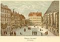 Leipzig Thomaskirchhof 1850.jpg