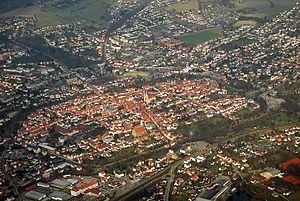 Lemgo - Aerial view