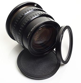 Lens - Carl Zeiss jena APO-Germinar W B-150 and filter.jpg