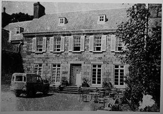 Les Augrès Manor - The Manor House in 1963