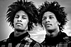 Les Twins, photographed by Shawn Welling in 2010