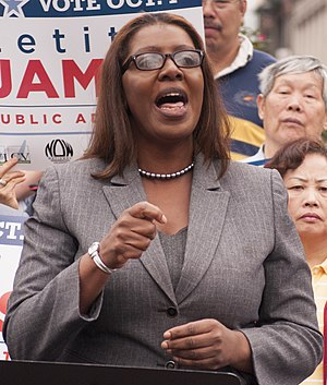 New York City Public Advocate - Image: Letitia James 2013