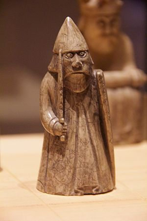Ascall mac Ragnaill - Image: Lewis chessmen, National Museum of Scotland 2