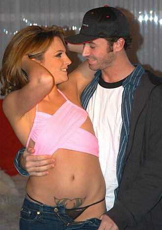 James Deen - Deen with Lexi Love in a pornographic shooting