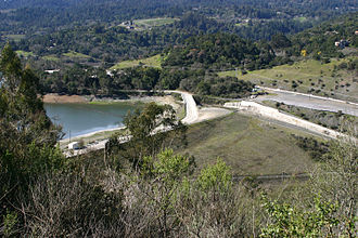 Lexington Reservoir - James J. Lenihan Dam